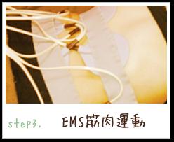EMS筋肉運動